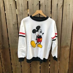 Vintage Disney 80s Mickey Mouse Crewneck